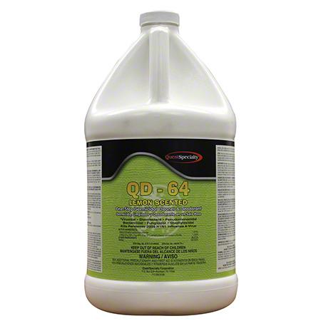 Quest QD-64 One Step Germicidal Cleaner/Deodorant-Gal, Lemon