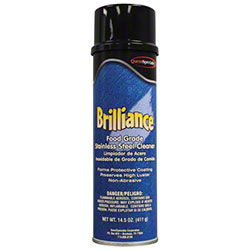 Quest Brilliance Oil Base Stainless Steel Cleaner-14.5oz Net