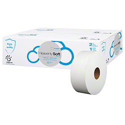 "Sofidel Heavenly Soft® Special 9"" Jumbo Roll Tissue - 700'"