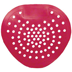 Tolco® Vinyl Urinal Screen - Red, Cherry