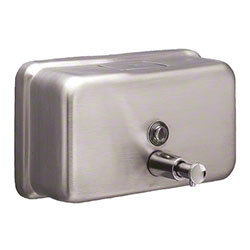 Tolco® 40 oz. Horizontal Soap Dispenser - Stainless Steel