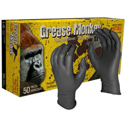 Grease Monkey™ Nitrile Disposable Glove - Large