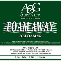 A & G Supply Foam Away Defoamer - 4 L