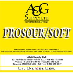 A & G Supply Prosour/Soft - 20 L