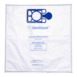 Janitized® 4 Ply High Efficiency Micro Filter Bag