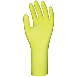 RONCO Yellow Light-Fit™ Natural Latex Gloves - Large (9)
