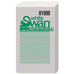 "White Swan® Classic Singlefold Towel - 9"" x 10.7"""
