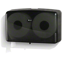 NOIR Jumbo Bath Tissue Jr Twin Dispenser - Smoke/Black