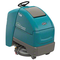 "Tennant T350 Stand-On Floor Scrubber -24"" Disk, 240AH,ec-H2O"