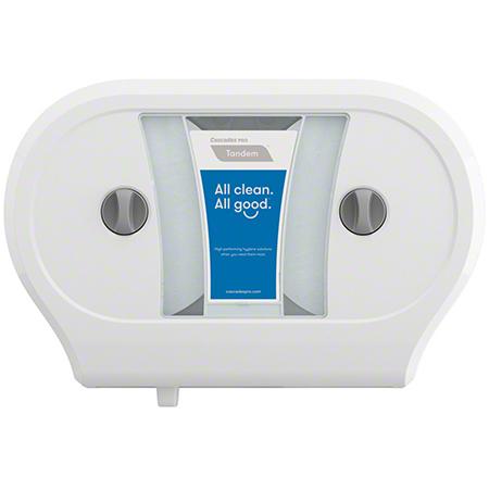 Cascades PRO Tandem™ Jumbo Double Roll Tissue Dispenser