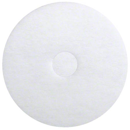 ETC White Polish Pad - 17""