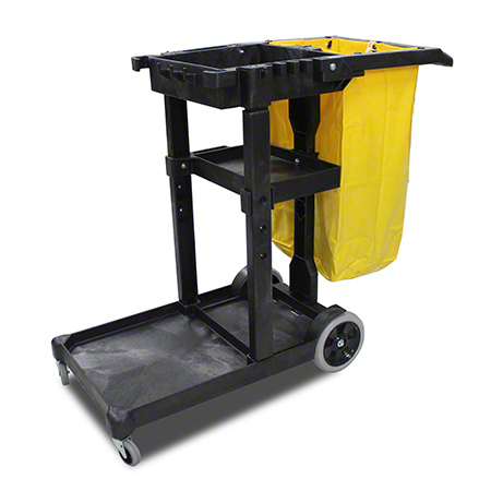 Impact® Janitor's Cart w/25 Gal. Bag