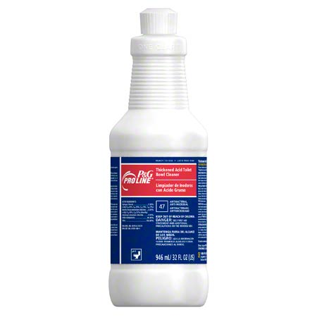 Pro Line® #47 Thickened Acid Bowl Cleaner - 32 oz.
