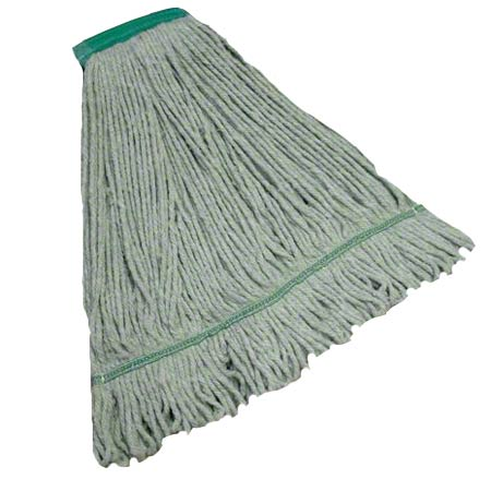 "Tuway™ Blended Looped End Wet Mop - 16 oz., 5"", Natural"