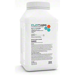 Purtabs 13.1g Effervescent Disinfecting & Sanitizing Tablets