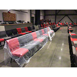 NAPCO Church & Auditorium Seating Cover - 8' x 400'