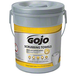 GOJO® Scrubbing Towel - 72 ct. Canister