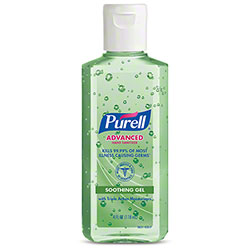 GOJO® Purell® Advanced Hand Sanitizer Soothing Gel - 4 oz. Flip Cap