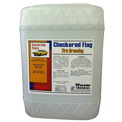 Warsaw Checkered Flag Tire Dressing - 5 Gal. Tighthead
