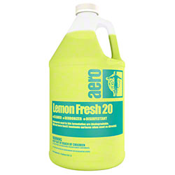 aero® Lemon Fresh 20 Cleaner Deodorizer Disinfectant -Gal.