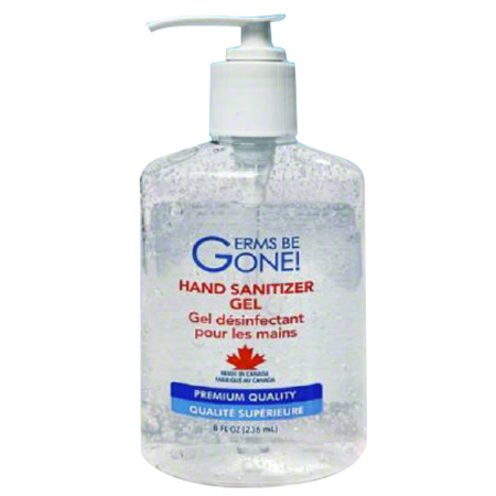 The Germs Be Gone! Hand Sanitizer Gel - 8 oz.