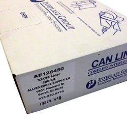 High Density Liner - 33 x 39, Clear