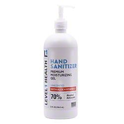Level 1 Health Gel Hand Sanitizer - 32 oz. Pump Bottle