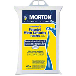 Morton Water Softener Salt System Saver Pellets - 40 lb. Bag