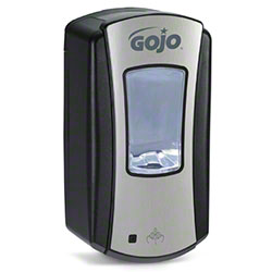 GOJO® LTX-12™ Touch Free 1200 mL Dispenser-Chrome/Black
