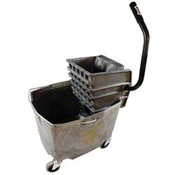Impact® Gray Sidepress Squeeze Wringer Bucket Combo