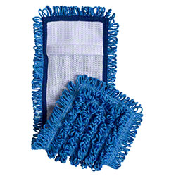 "Intelligent Microfiber 18"" Pocket Mop - Blue"
