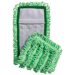 "Intelligent Microfiber 18"" Pocket Mop - Green"
