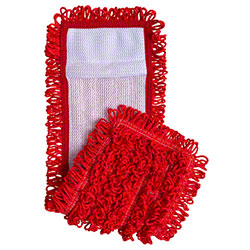 "Intelligent Microfiber 18"" Pocket Mop - Red"