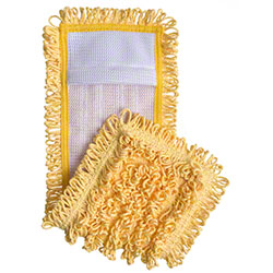 "Intelligent Microfiber 18"" Pocket Mop - Yellow"