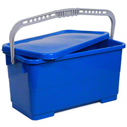Intelligent Microfiber Blue Sealing Bucket w/Lid