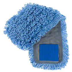 "Intelligent Microfiber 18"" Blue Tab Mop"