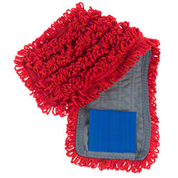 "Intelligent Microfiber 18"" Red Tab Mop"