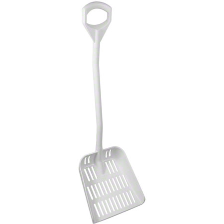 Remco Vikan® Large Sieve Ergonomic Shovel - White