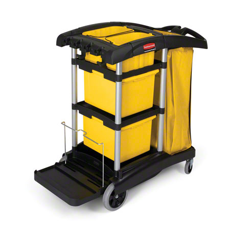 Rubbermaid® Hygen™ Microfiber Cleaning Cart