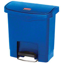 Rubbermaid® Slim Jim® Step-On Resin Front Containers