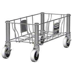 Rubbermaid® Slim Jim® Stainless Steel Single Dolly