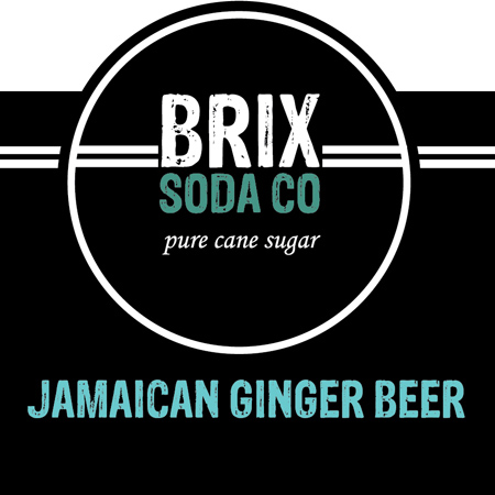 BRIX Bottled Jamaican Ginger Beer - 12 oz.