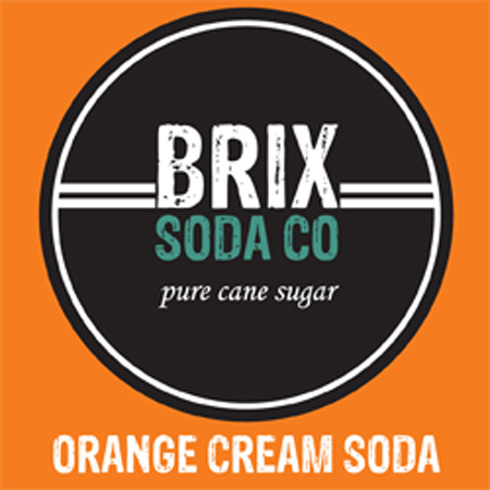 BRIX Orange Cream Soda Bag-In-Box Syrup - 5 Gal.