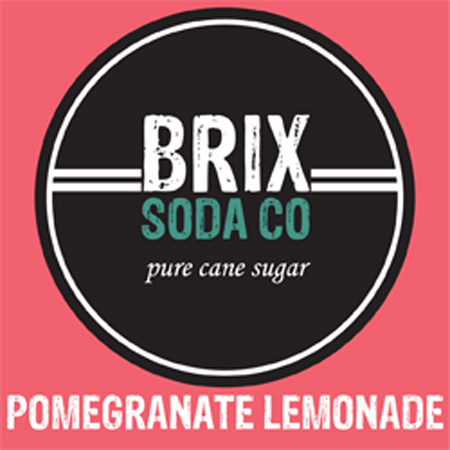 BRIX Pomegranate Lemonade Bag-In-Box Syrup - 5 Gal.