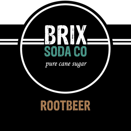 BRIX Bottled Rootbeer - 12 oz.