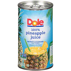Juice Pineapple Can - 6 oz.