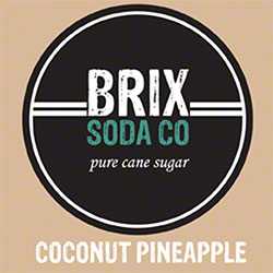 BRIX Coconut Pineapple Bag-In-Box Syrup - 5 Gal.