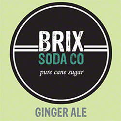 BRIX Ginger Ale Bag-In-Box Syrup - 5 Gal.