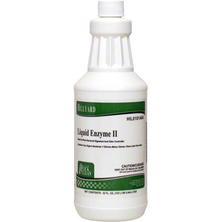 Hillyard Quick & Clean® Liquid Enzyme II - Qt.