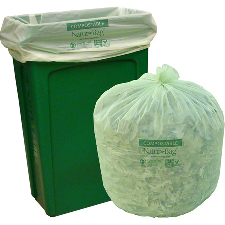 "Natur-Bag® Compostable Bag - 38"" x 48"", 0.9 mil"